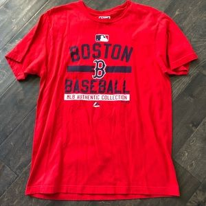 Majestic L Red Sox T, excellent condition!